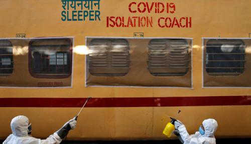 Totalitas, India Siapkan Puluhan Ribu Gerbong Kereta Jadi RS Darurat