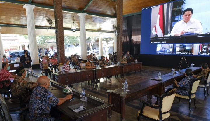 Super Banget! Semen Indonesia Group  Gandeng BUMDes Bikin Perusahaan Patungan