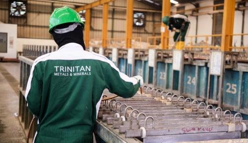 Foto Top! Trinitan Produksi Nikel Murni, Bisa Buat Mobil Listrik
