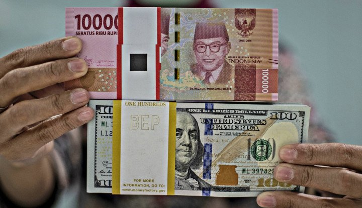 Dolar AS Balik Menyerang! Rupiah Terbuang, Dekati Level Rp14.600