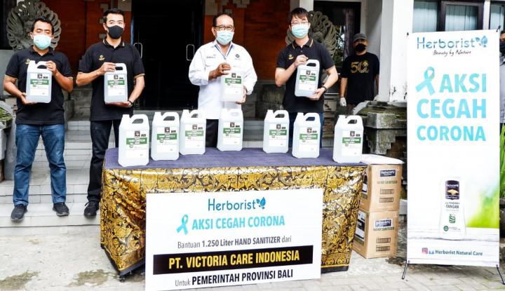 VICI Sandiaga Kasih Apresiasi Produk Kesehatan Milik Victoria Care Indonesia