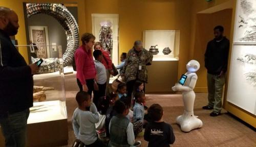 Museum di Amerika Gunakan Robot sebagai Pemandu