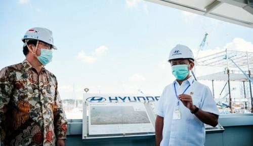 Covid-19 Gerogoti RI, Pembangunan Pabrik Manufaktur Hyundai Tak Terhenti