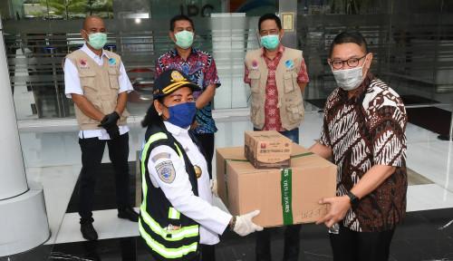 IPC-BKPM Bagikan Ribuan Masker dan Paket Makanan di Wilayah Pelabuhan