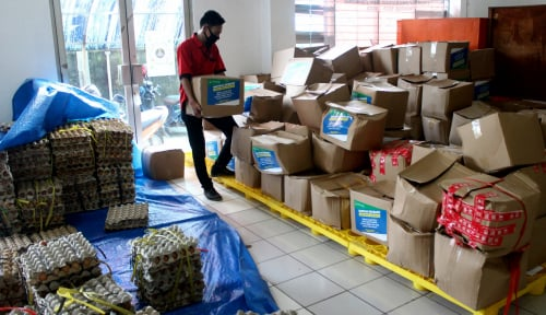 Pemprov Dki Kirim Bansos Tahap 2 Ke Bambu Apus Sudah Salurkan 3 200 Paket