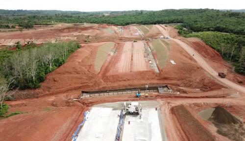 Hutama Karya Mulai Garap dan Kebut Konstruksi Tol Trans Sumatera Ruas Ini