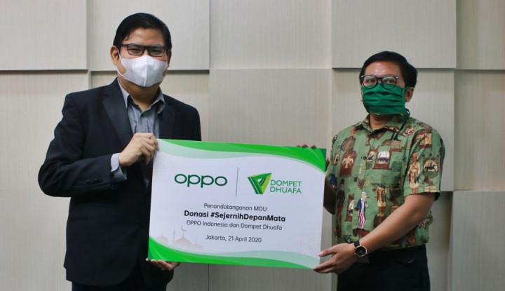 Galang Donasi Lawan Covid-19, OPPO Gelar Lelang Handphone