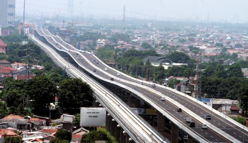 Proyek Jalan Tol Japek II Selatan Ditargetkan Rampung 2022