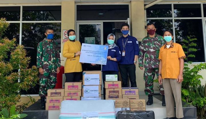 Askrindo Syariah Serahkan Ratusan APD ke Rumah Sakit Rujukan Covid-19