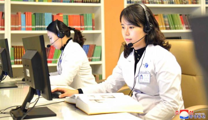Rezim Kim Jong-un Rilis Situs Web Kesehatan Baru, Ada Informasi Pandemi Corona?