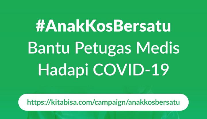 Lewat #AnakKosBersatu, Mamikos Galang Dana untuk Dukung Tenaga Medis