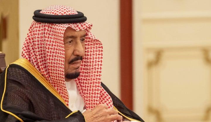 Telepon Trump, Raja Salman Siap Capai Solusi Permanen Palestina