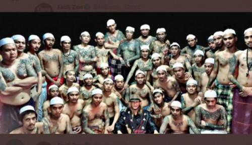 Bantah Foto Editan, Pengacara Bilang: 80 Persen Napi Bertato Murid Habib Bahar