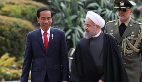 Via Telepon, Presiden Rouhani dan Jokowi Bahas Penanganan Bersama Pandemi Corona