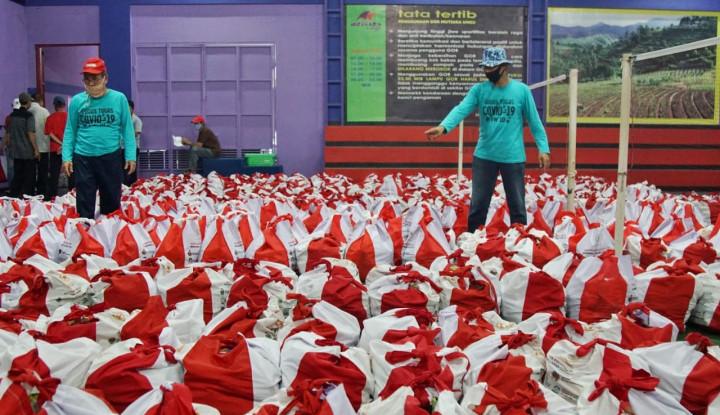 Daripada Bansos Sembako, Gerindra: Uang Saja, Lebih Bermanfaat!