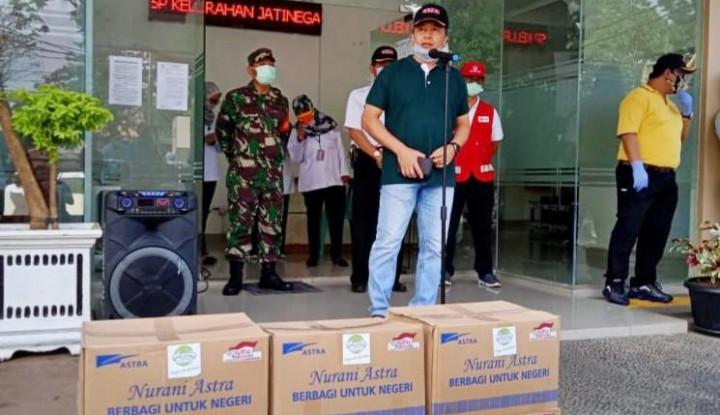 AALI Donasikan Bantuan Paket Sembako untuk Masyarakat