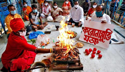 Tanpa Air-air Suci, India Siap Buka Kuil dan Mal Pekan Depan