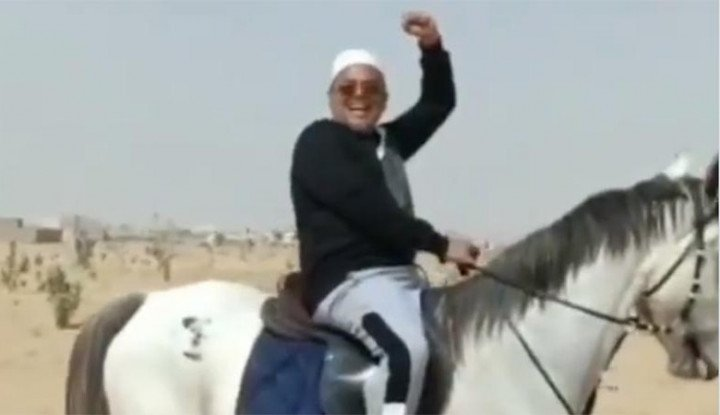 Habib Rizieq Naik Kuda, Netizen Langsung Heboh