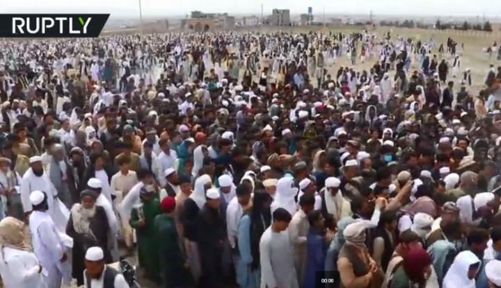 Afghanistan Bilang Virus Corona Tak Membahayakan Umat Islam karena...