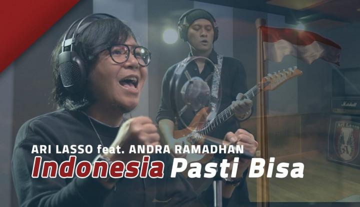 Senandung Ari Lasso Indonesia Pasti Bisa, Bikin Hati...