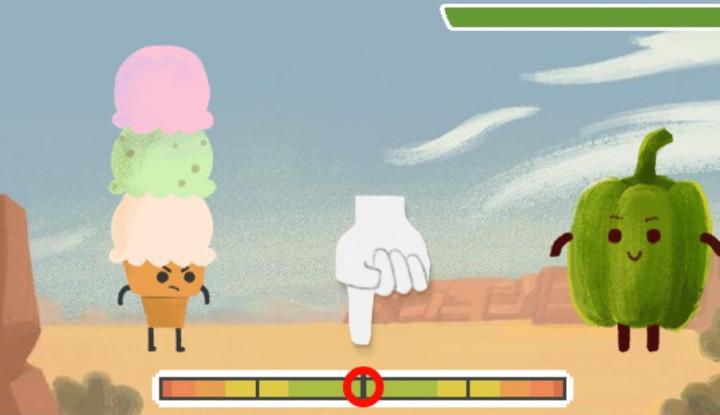 Google Doodle Hari Ini Gim Wilbur Scoville Kalahkan Monster Pedas