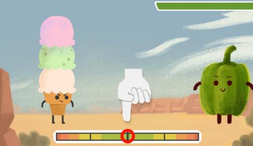 Google Doodle Hari Ini: Gim Wilbur Scoville, Kalahkan Monster Pedas!