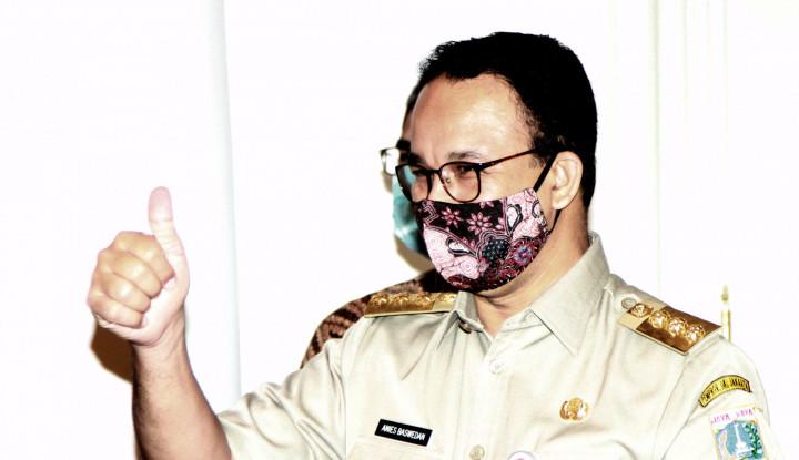 Bantu Lawan Covid-19, Anies Baswedan Angkat Topi untuk Rekan Indonesia