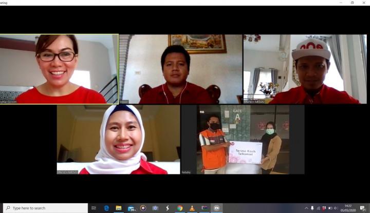 #DiRumahTerusMaju, Telkomsel Donasikan APD di Wilayah Sumut dan Aceh