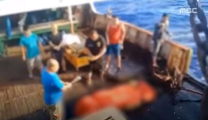 Gila! Viral Lagi Video ABK Indonesia Dibuang Kapal China, Sekarang Lokasinya...