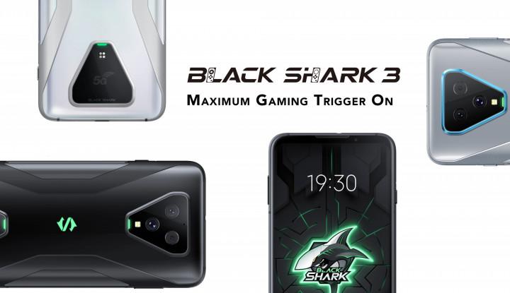Bakal Masuk Indonesia, Ini Rincian Duo Black Shark 3