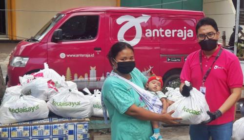 Anteraja Salurkan Lebih dari 2.500 Bantuan Paket Sembako ke Jakarta Utara