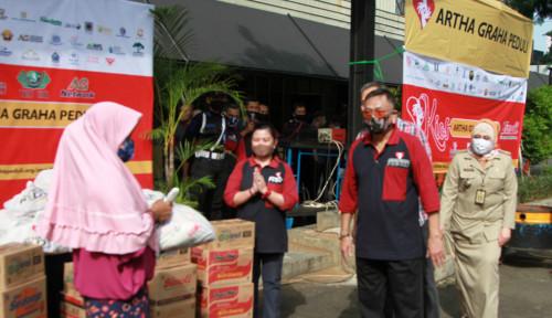 INPC Gandeng Pengusaha Nasional, Artha Graha Peduli Tebar Sembako Gratis