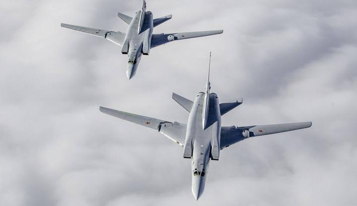 Lagi, Jet Tempur Rusia Kembali Tertangkap di Langit Alaska