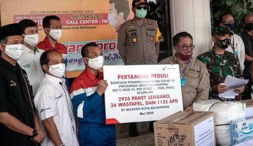 Lawan Covid-19, Pertamina Grup Kucurkan Rp2 M untuk Wilayah Balikpapan