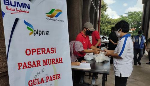 Jangan Panik Soal Gula, PTPN XI Gelar Pasar Murah, Ini Lokasinya...