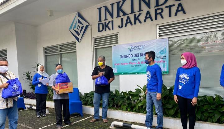 Inkindo DKI Jakarta Salurkan Bantuan Tahap Kedua