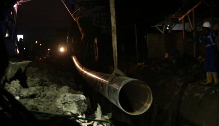 Pengembangan Pipa Pertamina Cilacap-Bandung III Hampir Setengah Jalan