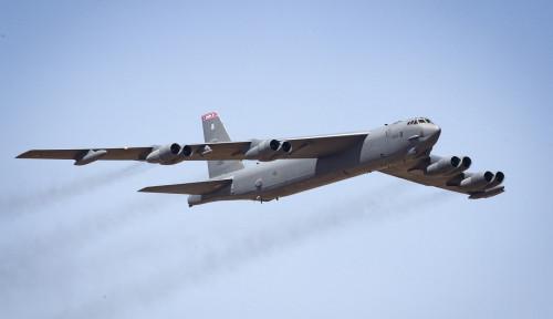 Lagi Latihan, Pesawat Bomber B-52 AS Tak Sengaja Lepas Rudal Hipersonik