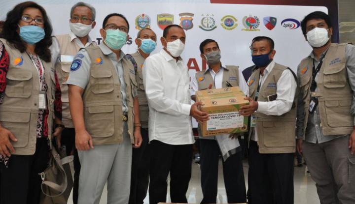 Inalum Pimpin BUMN Beri Bantuan APD ke Pemprov Sumut