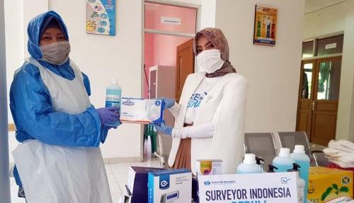 Tanggap Covid-19, Surveyor Beri Bantuan APD dan Sembako