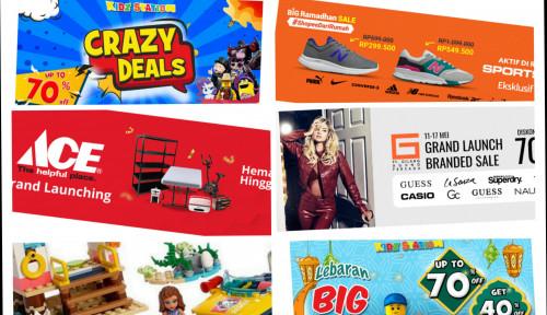 ShopeeMall Hadirkan Mitra Brand Global dengan Promo Besar