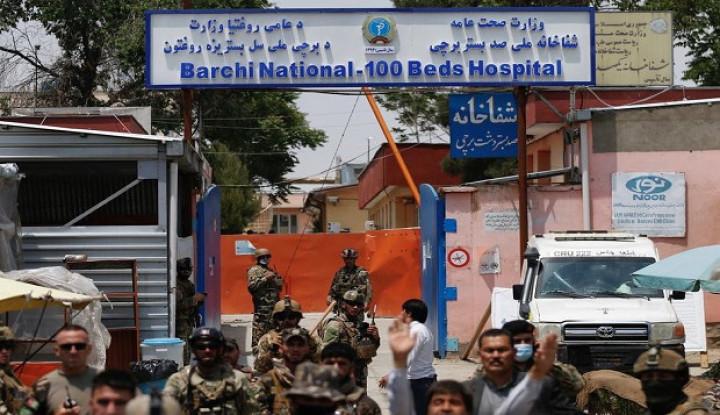 AS Sebut ISIS Jadi Aktor Utama Pembantaian Rumah Sakit di Afghanistan