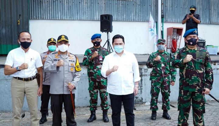 Erick Tinjau dan Lepas Bantuan Sembako 1.000 Panti Asuhan di Jadetabek