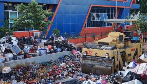 Bea Cukai Kepulauan Riau Musnahkan Jutaan Barang Ilegal Senilai Rp18,2 Miliar