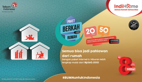IndiHome Bangkitkan Semangat Ramadan Keluarga Indonesia Melalui IndiHome Paket Berkah dari Rumah