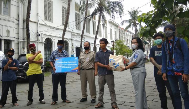 Seniman Kota Tua Jakarta Terkena Imbas Covid-19, Jasa Raharja Cabang Jakarta Beri Bantuan Sembako