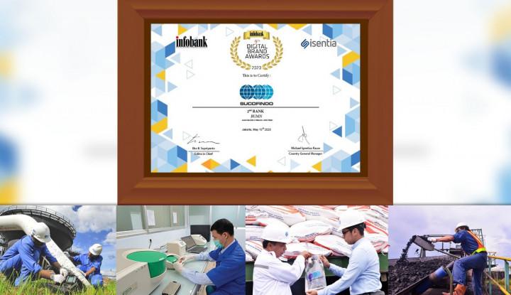 Sucofindo Sabet Infobank-Digital Brand Award 2020