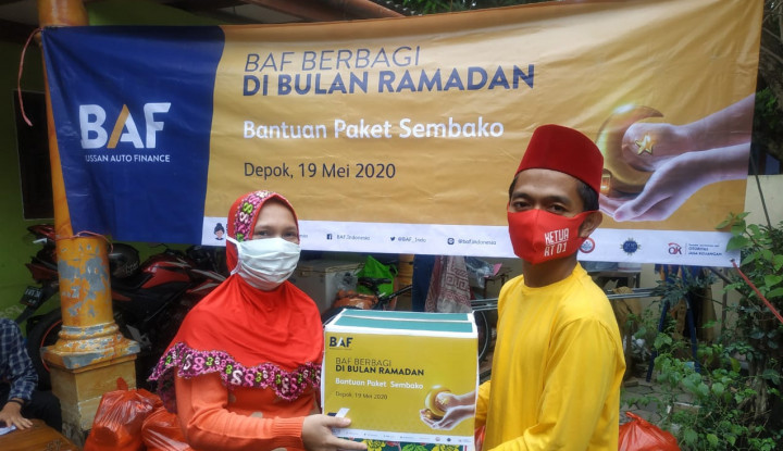 BAF Bantu Warga Terdampak Covid-19 di 5 Kota Indonesia