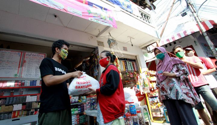 Warung Mitra Bukalapak Salurkan 10 ribu Paket Sembako