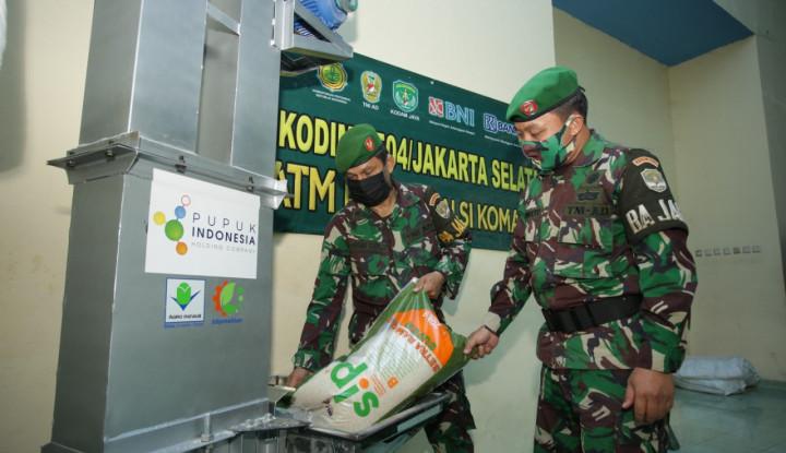 Pupuk Indonesia Siap Pasok 750 Ribu Kg Beras untuk ATM Pertanian Sikomandan
